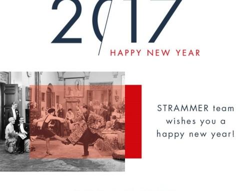 El equipo STRAMMER le desea un feliz año nuevo