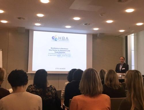 HBA-Konferenz: Resilienz im Geschäftsleben – ein wichtiger Faktor für den persönlichen und Team-Erfolg