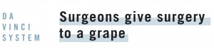 Surgeons perform Surgery on a grape