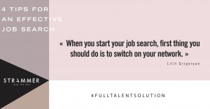 4 tips for effective job search