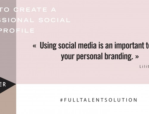 5 Simple Recommendations to Create a Professional Social Media Profile
