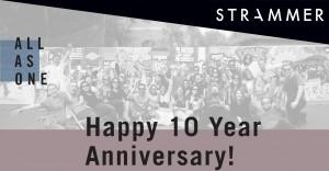 STRAMMER 10 years anniversary