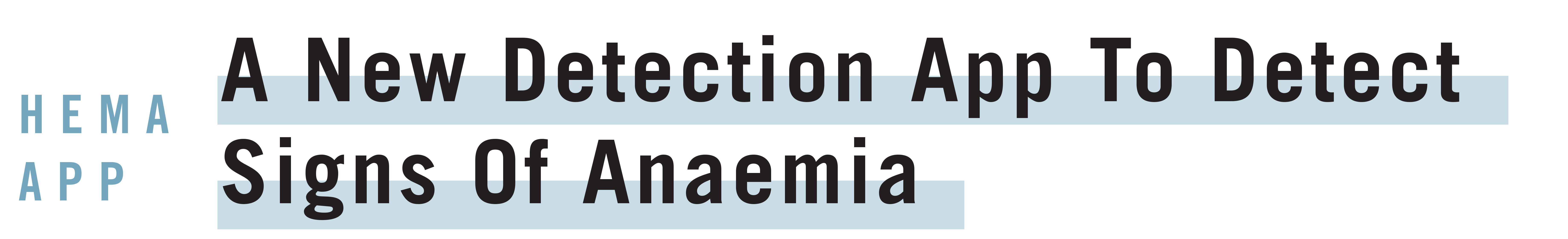 Anaemia Detection App