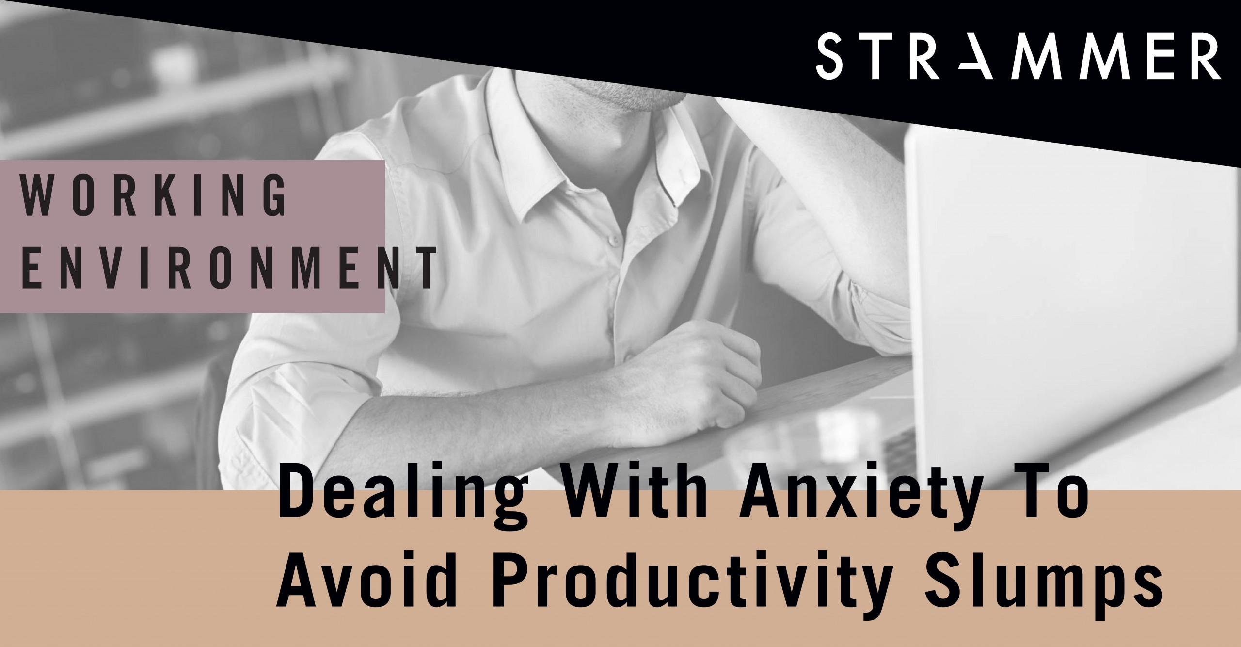 improve productivity by combating anxiety